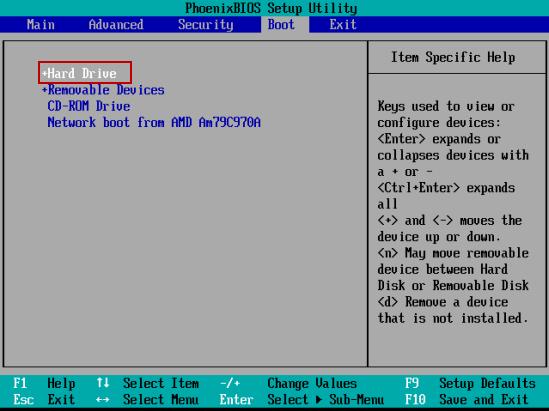 How to Set Phoenix BIOS SETUP Boot Computer from USB Flash Drive
