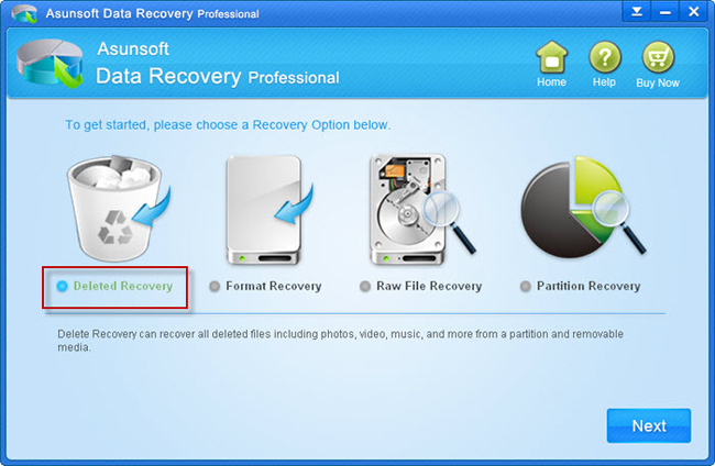 recover deleted files windows