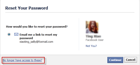 How to Retrieve Facebook Lost Password without Associated