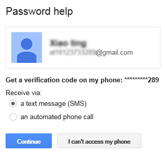How to recover a lost gmail password