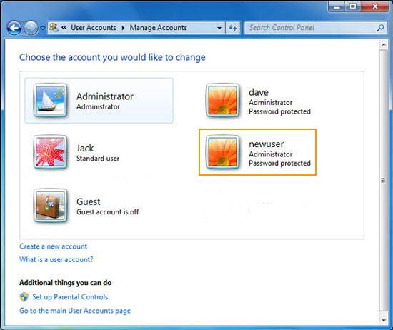 user locked windows 7