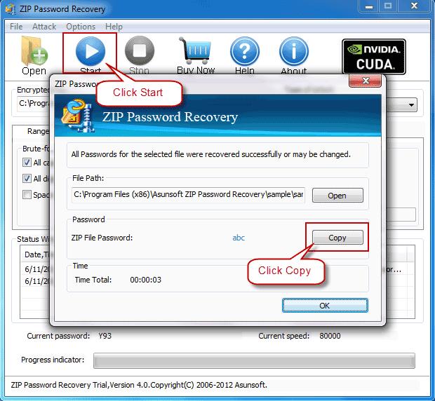 forgotten password on pdf file