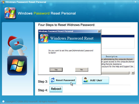 i forgot my password windows xp