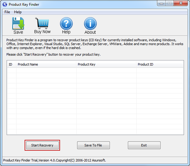 How to Find Product Key for Windows 8/7 from Registry