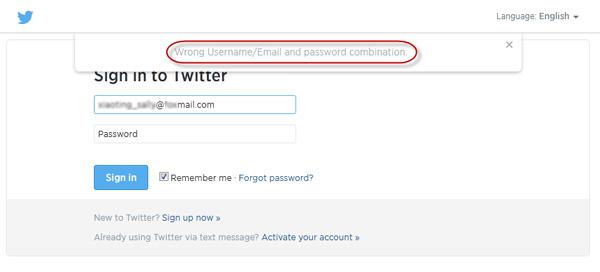 Forgot Twitter Password, How to Reset It?