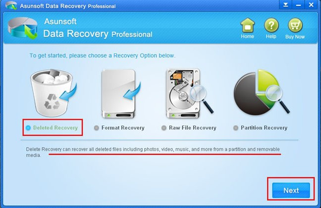 recover lost files from USB flash drive
