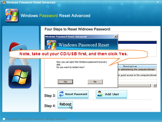 asunsoft windows 8 password reset advanced free  full version