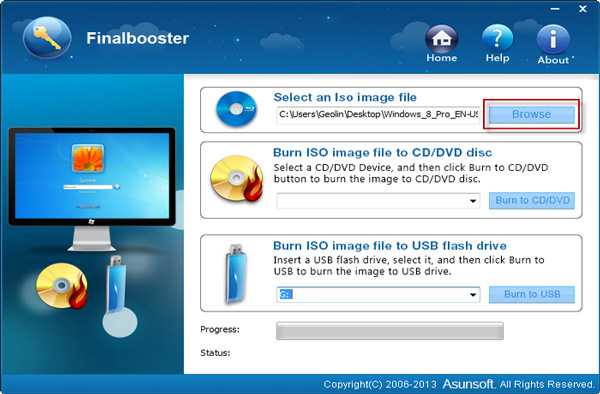 create windows 8 bootable usb drive from iso file