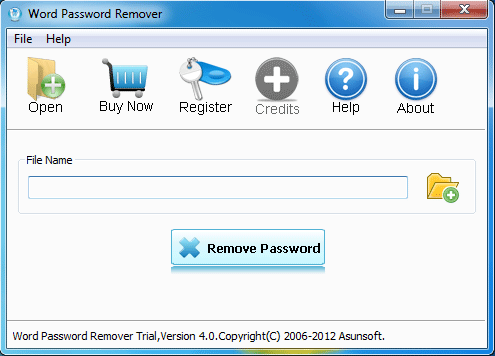 Remove MS Word password instantly.